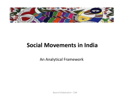 Social Movements part 1