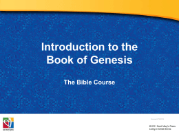 3-PowerPoint-Introduction_to_the_Book_of_Genesis