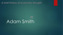 Adam Smith - The EE