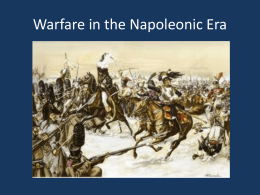 Warfare in the Napoleonic Era