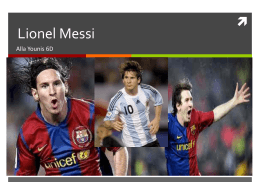 Messi Powerpoint - 17-152