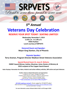 4th Annual Vets DAY 2013 Poster
