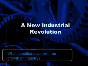 Causes of Industrialization Powerpoint Notes