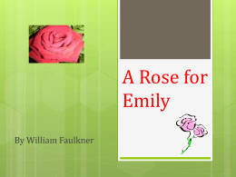 A_Rose_for_Emily_Lin