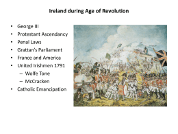 Ireland during Age of Revolution