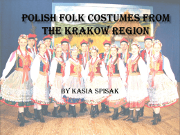 Polish folk costumes from the Krakow region - comenius