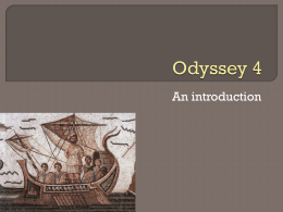 Odyssey Book 4: Reading Club