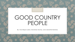 Good Country People_Ana Shea Jeanette