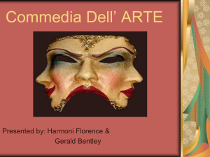 Commedia Dell* ARTE - Merrillville Community School