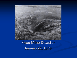 Knox Mine Disaster - Fall10-OROL-02