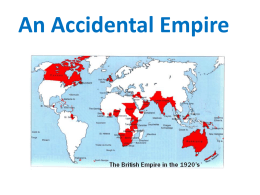 An Accidental Empire