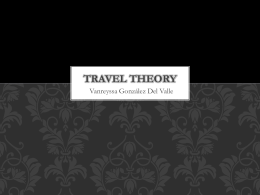 Travel Theory
