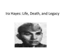 Ira Hayes powerpoint