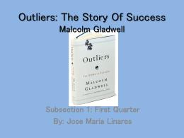 Outliers argumentative essay