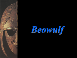 Beowulf Intro