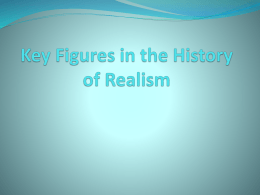 Key Figures in the History of Realism