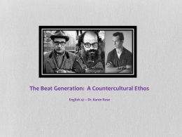 The Beat Generation - Long Beach City College