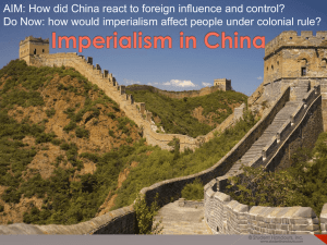 Chinaimperialism - My Social Studies Teacher