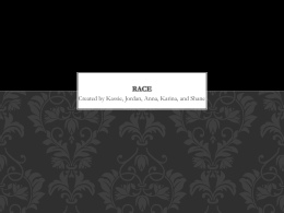 sociology race ppt