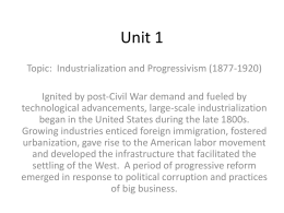 Unit 1 Chapter 2 Rapid Expanding Workforce Power Point