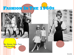 Fashion In The 1960s By