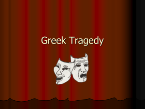 Greek Tragedy Introduction and Antigone PowerPoint