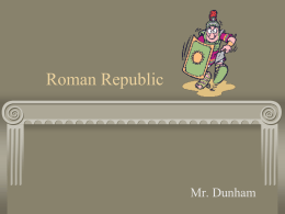 Chapter 6, Roman Republic