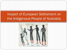 Impact of European Settlement-1