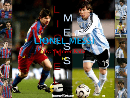 Lionel Messi Powerpoint - 17-064