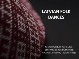 latvian folk dances