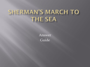 Sherman*s March to the Sea
