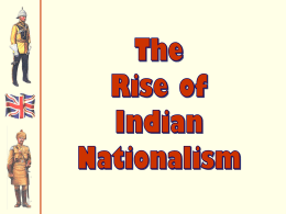 Indian Nationalist Movement Ch 9 Jensen ppt - kyle