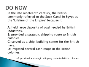 11.4 British Imperialism in India