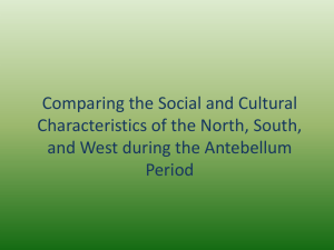 Comparing the Social and Cultural Characteristics of the North