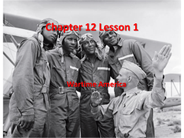 Chapter 12 Lesson 1 Wartime America - Ms. Shauntee