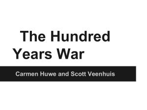 Presentation: 100 Years` War