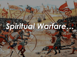 Spiritual Warfare (PowerPoint)