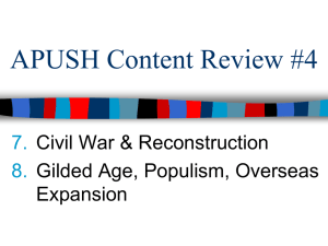 APUSH Content Review
