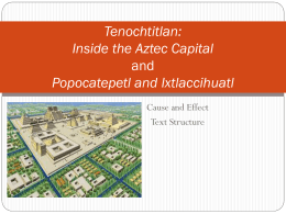 Tenochtitlan: Inside the Aztec Capital