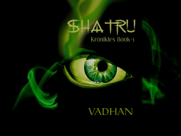 Book promotion - Shatru