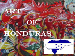 Art of Honduras