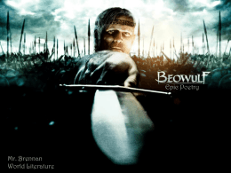 Beowulf and the Monomyth (PPT)