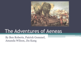 The Adventures of Aeneas - ShawnStallsworth