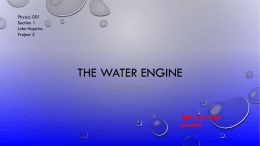 The water engine