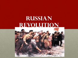 russian revolution slideshow revised - Egnot