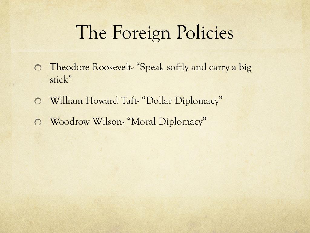 big stick diplomacy philippines