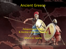 Ancient Greece - Mr. G Educates