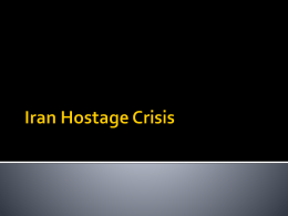 Iran Hostage Crisis power point