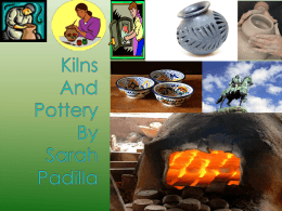Pottery and Kilns