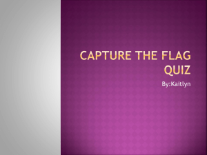 Capture The Flag Quiz